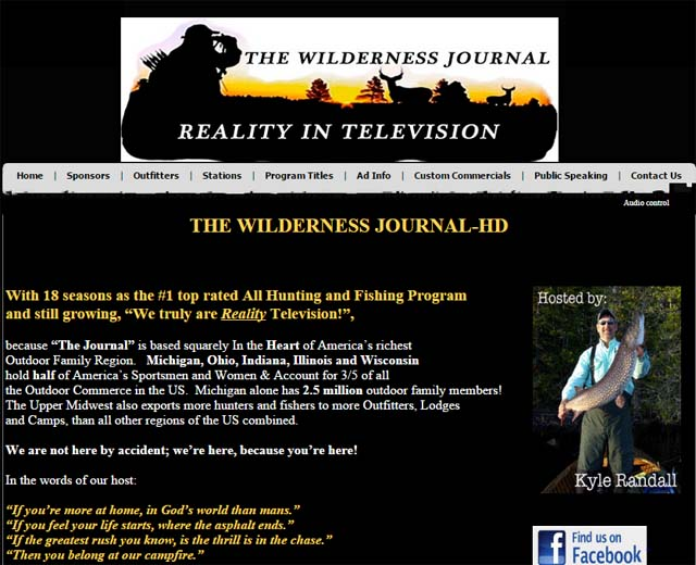 Wilderness Journal host Kyle Randall