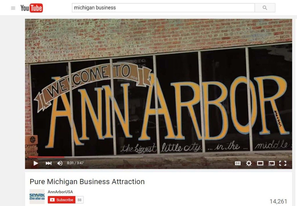 Ann Arbor Michigan Business