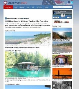 Pure Michigan 2015 Review