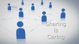 Sharing Social Media Posts