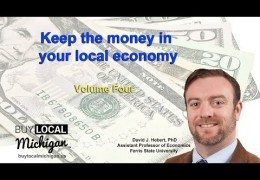 Michigan economy and buying local