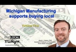Michigan Manufacturing supports Buying Local