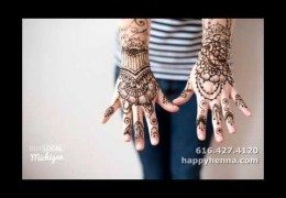 Temporary Henna Tattoos and Body Art