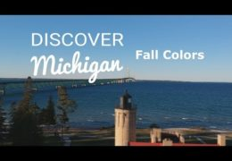 Michigan Aerial Fall Color Tour